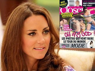 Princess Duchess of Cambridge topless
