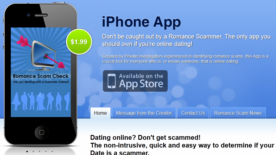 Private investigator online dating