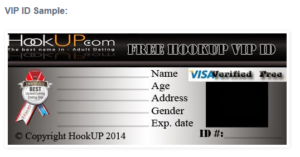 Hookup verification id