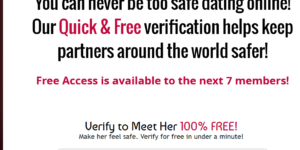 Hookup verification id scam